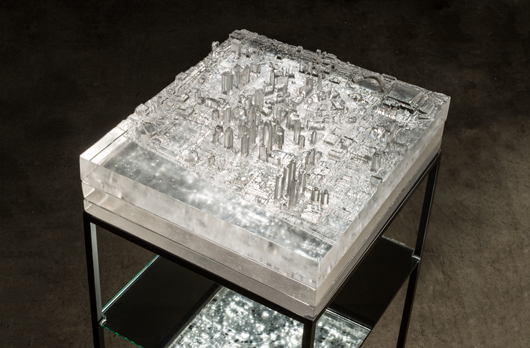 Norwood- Mining Industries: Detroit City Center-3D printed patterns